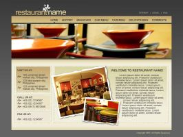 restaurant project by aldwin26