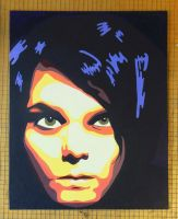 Gerard Way posterized by vi0letdreamer