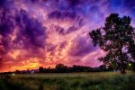 Majestic Kansas twilight by maddyfarfan