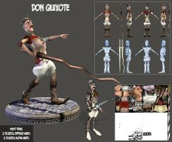 Don Quixote by genci