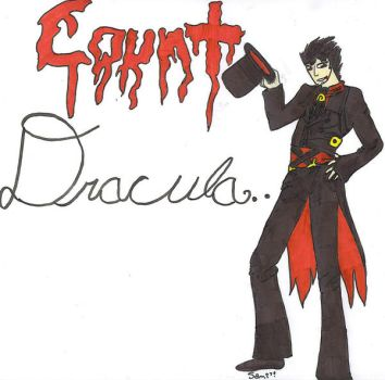 Count Dracula T.T by XSamTehPirateX