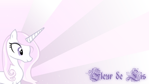 Fleur de Lis Wallpaper by BlueDragonHans