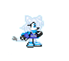Shiro Sprite (practice) by XUltimate-AnimationX