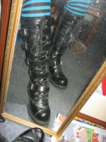 New Boots by BLUE---WOLF