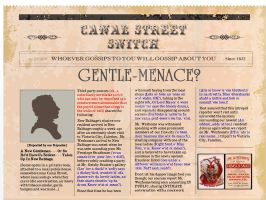 The Canal Street Snitch (1st Ed) by PennyGaffPublishing