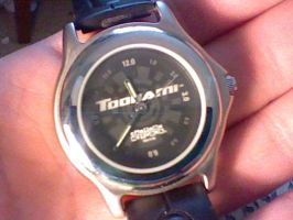 Toonami wrist Watch by spaceman022