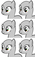 MLP:FiM - Base Pony Vector Eyes Set 1 and 2 by StargazeSchrecken1