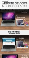 Website Devices Mockup Creator by creativefox33