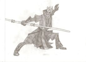 Darth Maul by stipher30