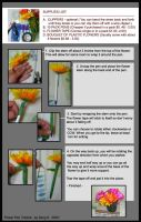 Flower Pen Tutorial by sengster