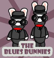 The Blues Bunnies by GMLink