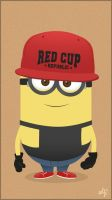 Red Cup Minion by kaicastle