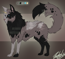Canine Wuffie. by Demite