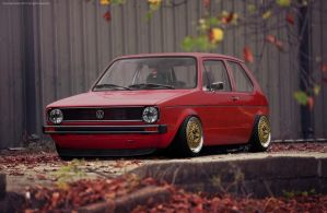 VW Golf Mk1 by SrCky by SrCky