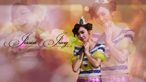 Jessica Jung Wall by Karlanaley