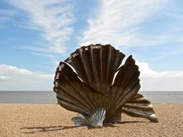 The Scallop at Aldeburgh by muzzy500