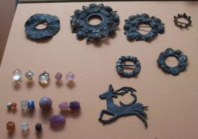 Viking Brooches and Jewelry by ValerianaSTOCK