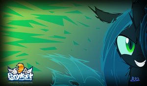 PonyKart Chrysalis Wallpaper (edited) by Blue-Paint-Sea