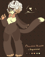Chocolate Ripple the Jaguarundi by poofylion