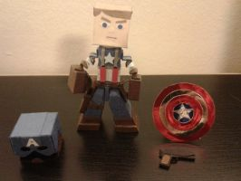 CPT STEVE ROGERS by BuildMyPaperHeart