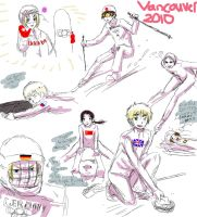 :APH: VANCOUVER SKETCHES by Inupii