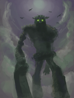 Shadow of the Colossus by Kaffeebohnson
