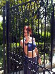 Lara Croft gym suit - gate by TanyaCroft