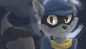 Sly Cooper by BanzaiLuffy