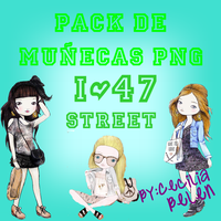 Pack de munecas png ZIP by CeciliaBelen
