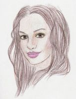 Anne Hathaway by Golden-Plated