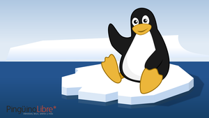 Wallpaper Tux Iceberg by MawsCM