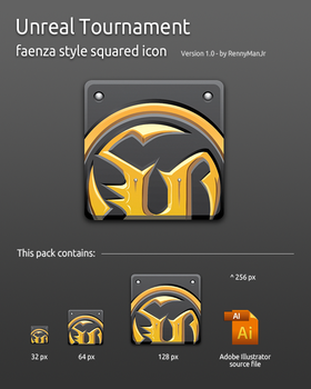 Unreal Tournament Faenza Icon by RennyManJr