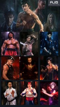 Martial Arts - The Card Game from AJG by linhsiang