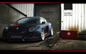Renault Megane V6 2010 by ROOF01