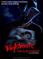 "My ""Nightmare on Elm Street Poster"" by ChemicalMarcel"