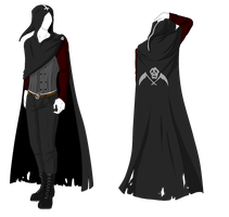 Custom Outfit Adopt - Reaper Cloak by ShadowInkAdopts