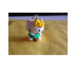 hello kitty earrings by yen-hm