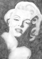 Marilyn Monroe by Michelles-Stuff