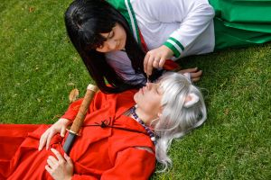 Inuyasha and Kagome by TerrorSprinkles