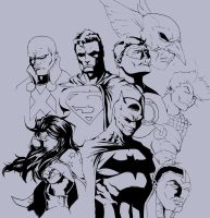 Justice League by Panthro005