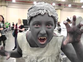 Weeping Angel at NYC Comic Con 2012 by FUBARProductions