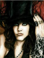 Ville Valo VI(666) by Sass-Haunted