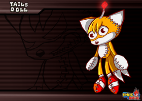 Tails Doll -Sonic Battle by Cerberean