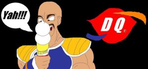 Nappa loves Dairy Queen by McGreger16