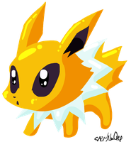 Chibi Jolteon by NoaQep