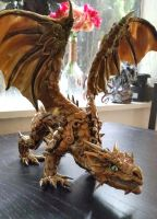 Beautiful Custom made Dragon by AstridMakosla