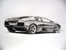 -Lamborghini Murcielago- by under18carbon