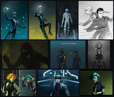 Tron and T:U II season_Sketches part35 by Kasimova