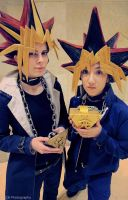Yami and Yugi by jinxed-jem