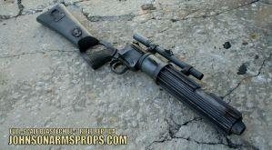 1:1 BOBA FETT BLASTECH EE-3 CARBINE RIFLE REPLICA by JohnsonArms